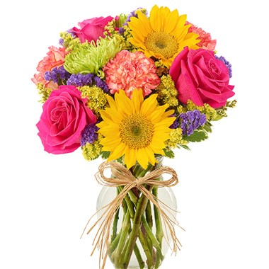 sunshine bouquet | 1 800 flowers 4 gift seattle