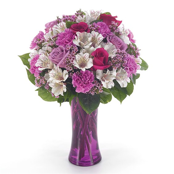 """Blushing Love"" flower bouquet (BF43-11KM)"