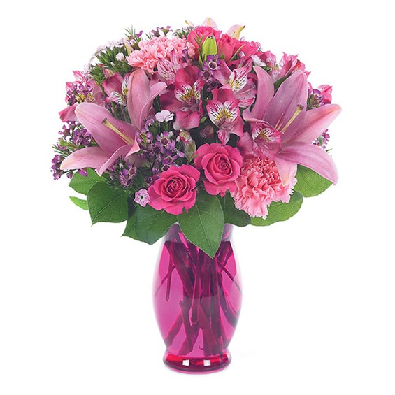 Pink Petals Bouquet 1 800 Flowers 4 Gift Seattle