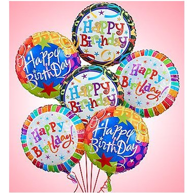 1 800 FlowersR Air ArrangementR Happy Birthday Balloons
