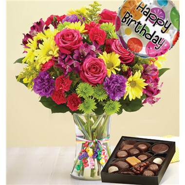 1 800 Flowers 174 It S Your Day Bouquet 174 Happy Birthday